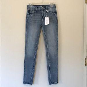 Kancan Medium Wash High-Rise Skinny Jeans Size 27